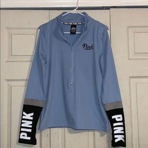 Pink (VS) Half Zip Jacket (mesh)